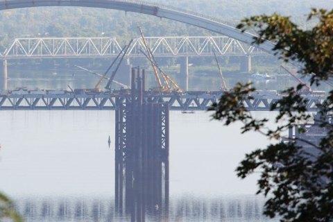 В КГГА заявили, что жители Русановских садов мешают строить Подольско-Воскресенский мост