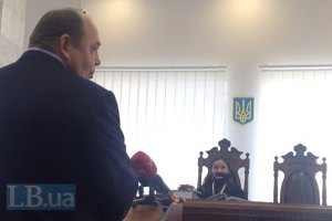 Следующим в деле Щербаня свидетельствует советник Лазаренко