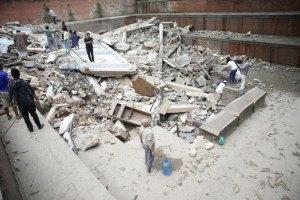 В Непале произошло новое землетрясение