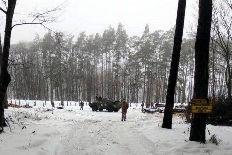 Возле арсенала ВСУ задержали троих подозрительных мужчин