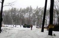 Біля арсеналу ЗСУ затримали трьох підозрілих чоловіків
