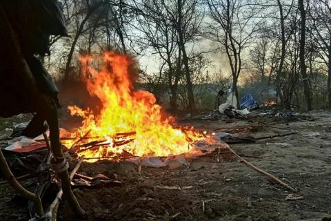 """Аваков назвав """"середньовічним варварством"""" напад на табір ромів на Лисій горі в Києві"""