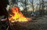 """Аваков назвал """"средневековым варварством"""" нападение на табор ромов на Лысой горе в Киеве"""