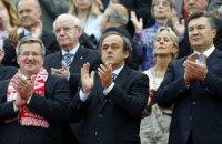 Варшава, июнь 2012-го. Евро-2012 и работа президента Украины Виктора Януковича