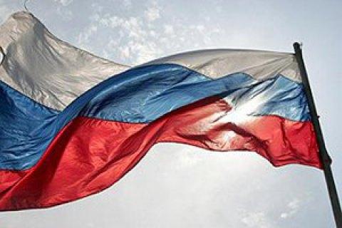 У центрі Севастополя чоловік намагався спалити прапор Росії