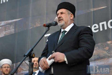 Чубаров рассказал, когда Порошенко предложит Раде отменить СЭЗ в Крыму