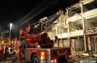 Количество погибших в результате взрыва бензовоза в Китае возросло до 19, ранены 172 человека