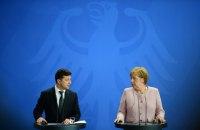 """Зеленський анонсував """"важливу зустріч"""" із Меркель щодо """"Північного потоку - 2"""""""