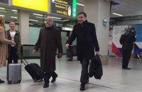 Саакашвілі помітили в аеропорту Амстердама