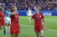 Збірна США стала першою фіналісткою жіночого Чемпіонату світу з футболу