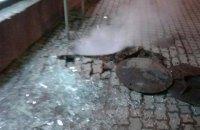 У центрі Львова стався вибух у каналізації