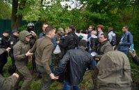 У стройплощадки в Протасовом Яру снова произошла потасовка