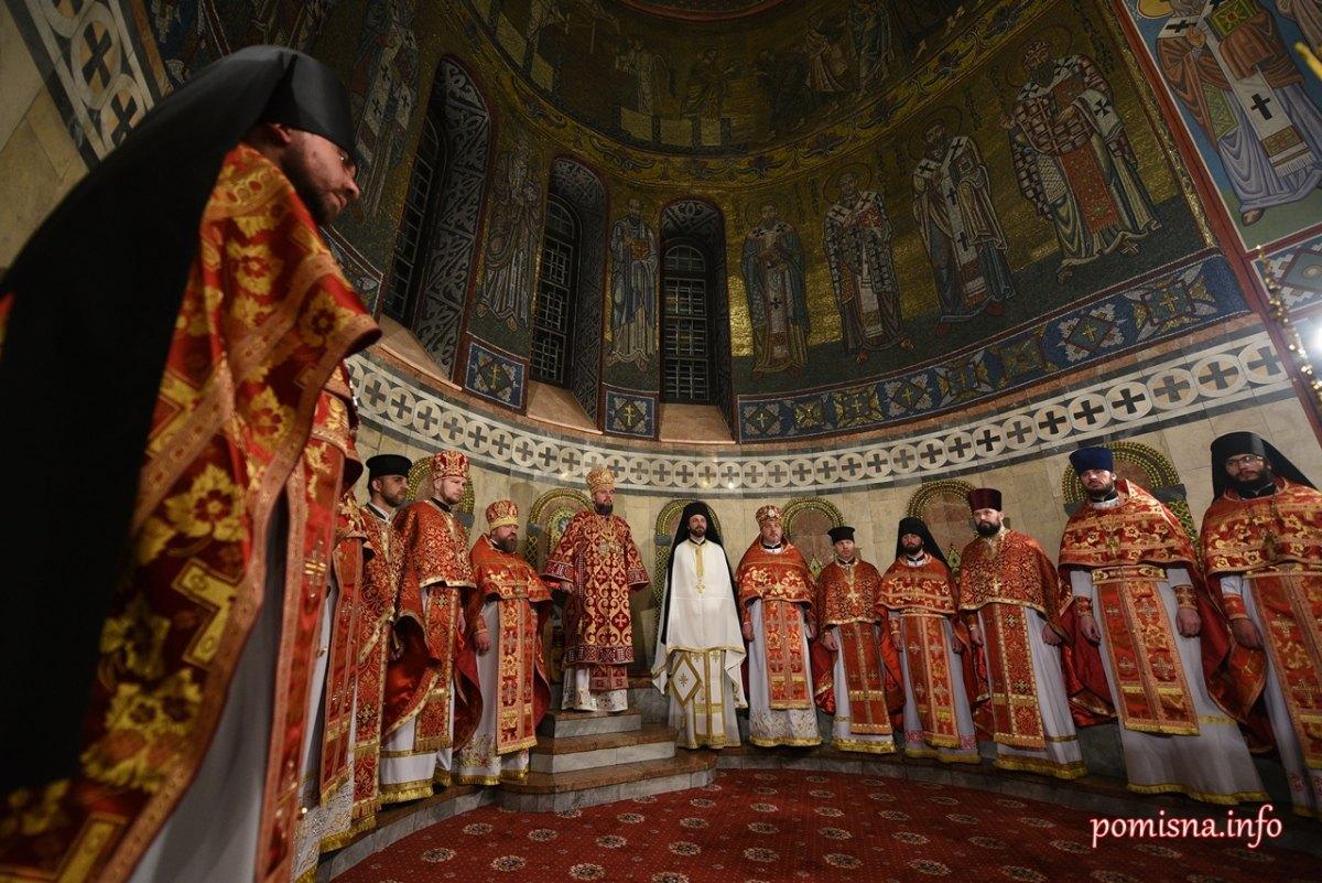 Пасха, Епифаний, Михайловский собор
