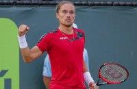 Долгополов расправился с Яновичем в матче теннисных сборных Украины и Польши