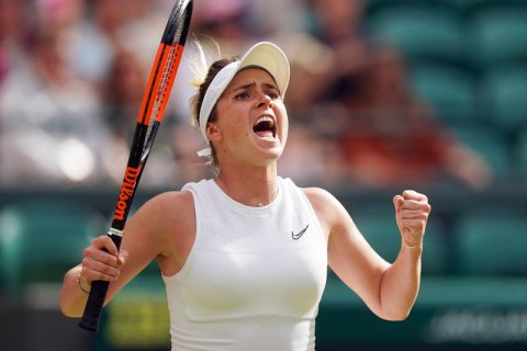 Уперше в історії українська тенісистка вийшла до півфіналу Вімблдону