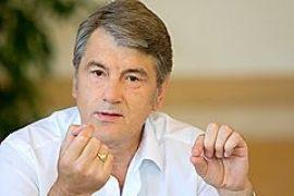 Ющенко обвиняет правительство в том, что оно не провело вакцинацию