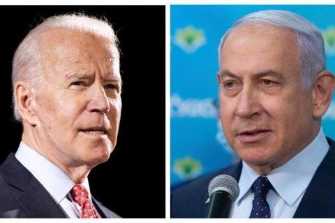 Байден і Нетаньягу провели телефонну розмову після удару Ізраїлю по бюро міжнародних ЗМІ в Газі