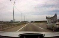 Автомобили ВАЗ теряют запчасти на ходу