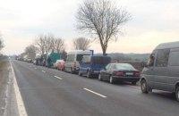 На польской границе появились очереди на въезд в Украину из более 1000 машин