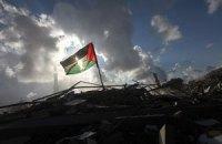 Между Израилем и Палестиной - стена