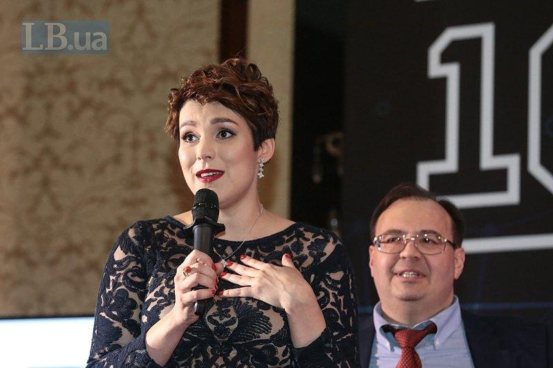 Шеф-редактор LB.ua Соня Кошкина и главный редактор Олег Базар