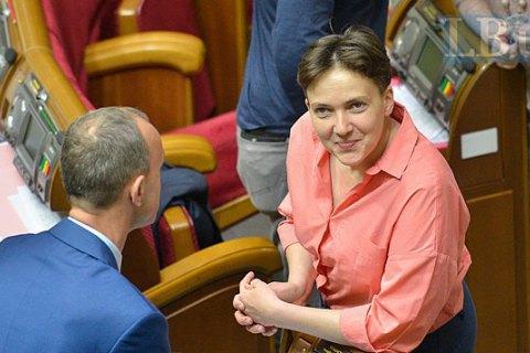 """Савченко звинуватила Жебрівського і Москаля в контрабанді цигарок """"із Луганська в Європу"""""""