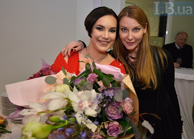 Ольга Червакова и Соня Кошкина