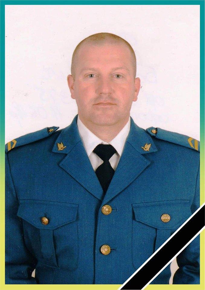 45-летний Василий Джус погиб сегодня на Донбассе