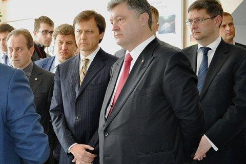 Порошенко звільнив чотирьох соратників Наливайченка