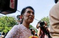 Первые за 25 лет выборы в Мьянме выиграла оппозиция