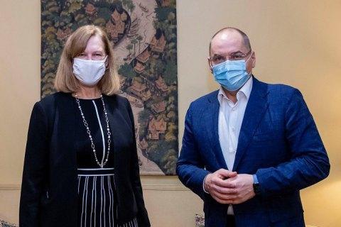 Украина не будет покупать российскую вакцину от COVID-19 - посольство США