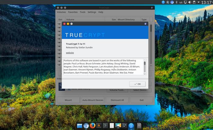 ТRUECRYPT - це вільне програмне забезпечення, що використовується для шифрування «на льоту» для операційних систем Microsoft Windows, Vista, Mac OS X та Linuх.