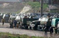 Минобороны: российские военные воруют технику в Бахчисарае