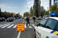 В Киеве автомобиль Subaru сбил насмерть женщину
