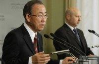 Глава ООН требует немедленно освободить задержанных в Славянске инспекторов ОБСЕ