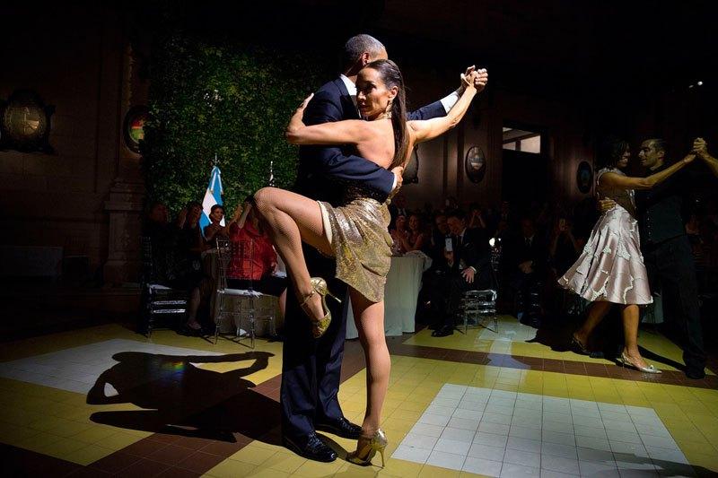 Во время торжественного ужина в Буэнос-Айресе. 23 марта 2016 года