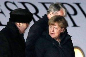 В Москве началась встреча Меркель и Олланда с Путиным