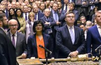 """Британский парламент окончательно одобрил """"Брексит"""""""
