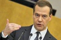 Медведєв вважає нові санкції США оголошенням економічної війни проти РФ
