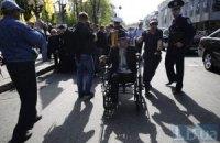 У Луганську чорнобильці тимчасово припинили протести