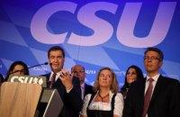 Союзники Меркель утратили більшість у парламенті Баварії