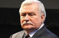 У Польщі суд зобов'язав Валенсу попросити вибачення у Качинського