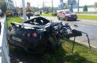 """Екс-гравець """"Динамо"""" вщент розбив автомобіль у Краснодарі"""