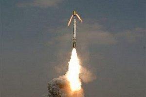 Индия запустила тактическую ракету средней дальности
