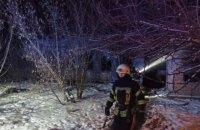 Из-за пожара в заброшенном доме в Днепре погибли три человека