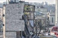 В Польше в результате взрыва газа обрушился четырехэтажный дом, есть погибшие