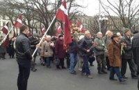 На шествие легионеров СС в Риге вышло 2 тыс. человек