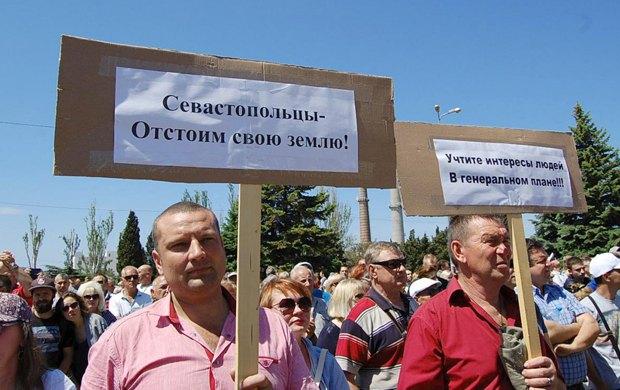 Митинг против *московского* генплана Севастополя, 27 мая 2017 г.
