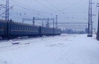 Поїзд Київ-Ужгород запізнився через підозрілу торбу на колії