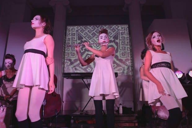 """Благодійний концерт Dakh Daughters в рамках акції """"Леви своїх не лишають"""""""